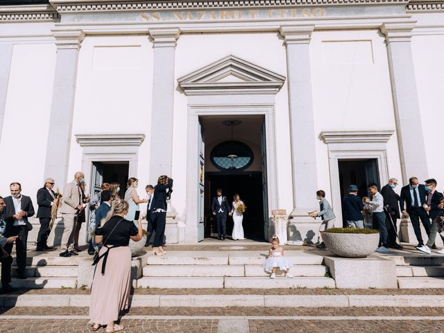 Il matrimonio di Michele e Valentina a Mesero, Milano 47