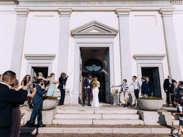 Il matrimonio di Michele e Valentina a Mesero, Milano 49