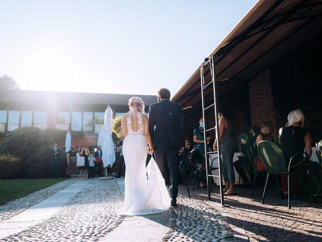 Il matrimonio di Michele e Valentina a Mesero, Milano 61