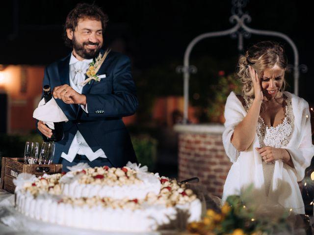 Il matrimonio di Michele e Valentina a Mesero, Milano 94