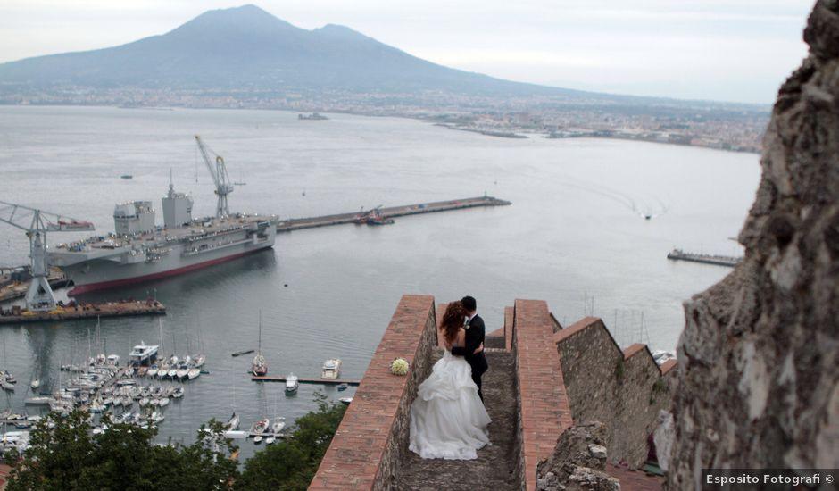 Il matrimonio di Valeria e Raffaele a Portici, Napoli
