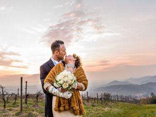 Le nozze di Virna e Cristiano