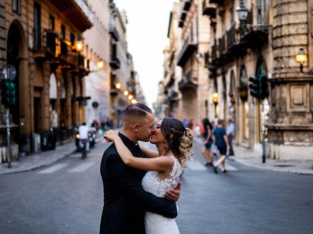 Il matrimonio di Ruggero e Roberta a Palermo, Palermo 12