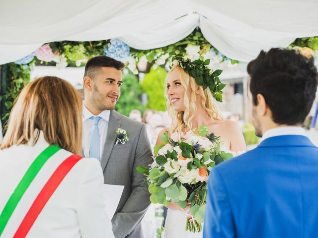 Il matrimonio di Marcello e Jessica a Montorfano, Como 31