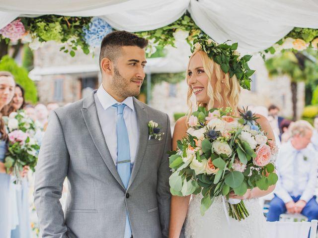 Il matrimonio di Marcello e Jessica a Montorfano, Como 32