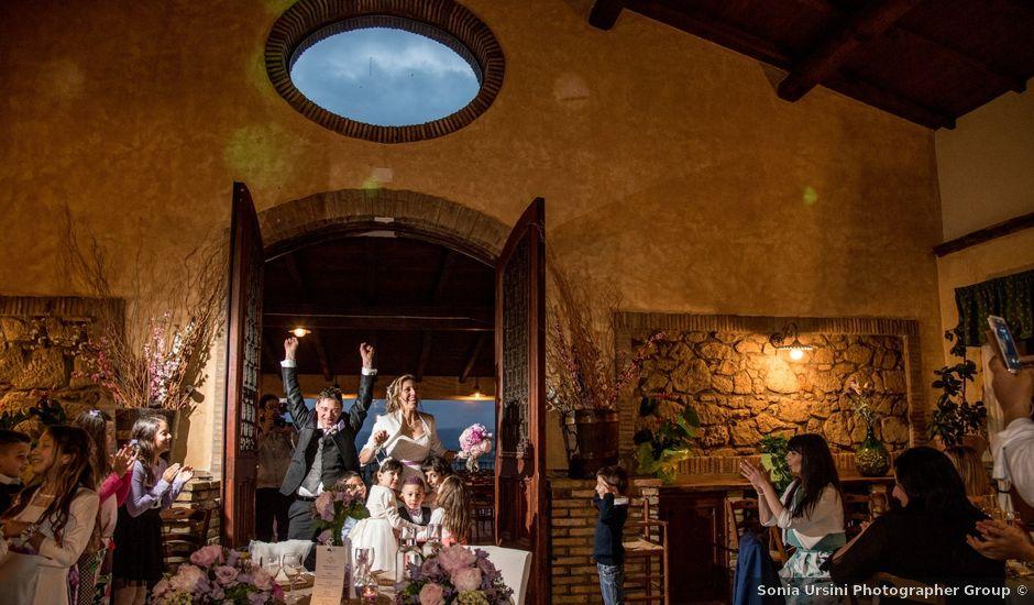 Il matrimonio di Cristiano e Francesca a Fonte Nuova, Roma