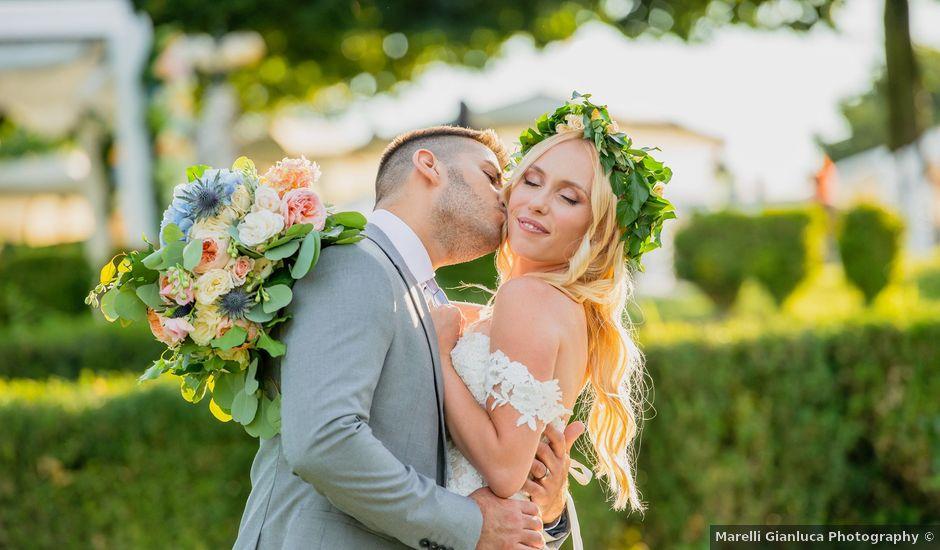 Il matrimonio di Marcello e Jessica a Montorfano, Como