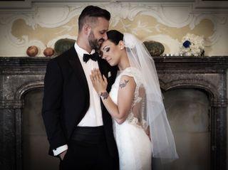 Le nozze di Umberto e Luciana