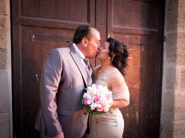 le nozze di Vanessa e Giuseppe