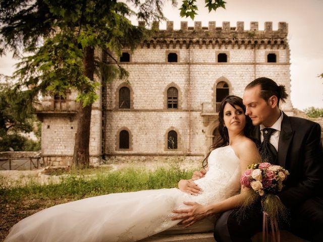 le nozze di Fabiana e Gianni