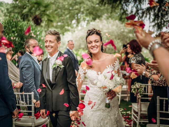 Le nozze di Katiuscia e Stefania