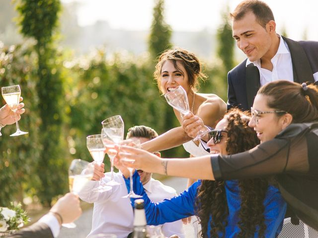 Il matrimonio di Nicola e Gloria a Monticello d'Alba, Cuneo 48