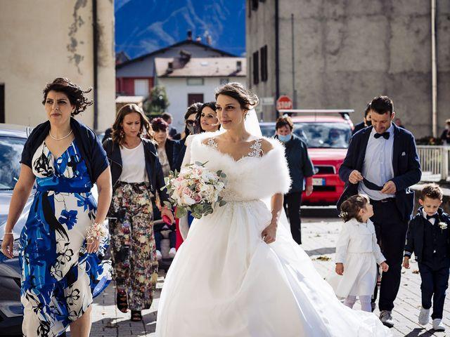 Il matrimonio di Simone e Valentina a Mello, Sondrio 35