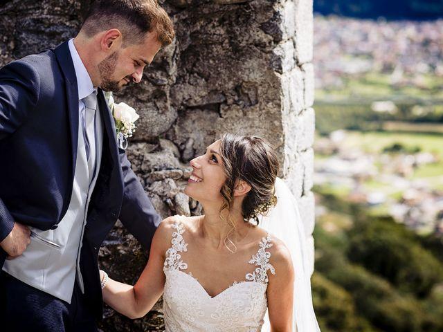 Il matrimonio di Simone e Valentina a Mello, Sondrio 73