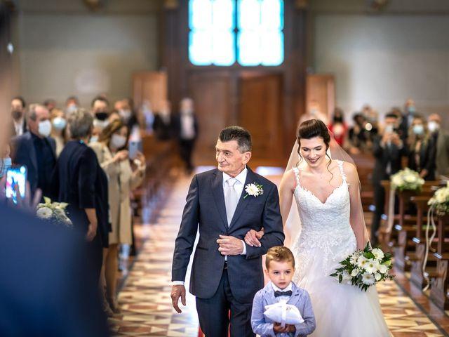 Il matrimonio di Andrea e Valentina a Rovato, Brescia 11