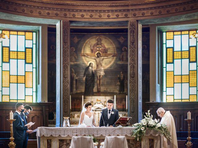 Il matrimonio di Andrea e Valentina a Rovato, Brescia 15