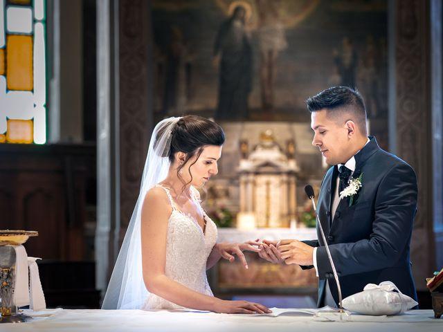 Il matrimonio di Andrea e Valentina a Rovato, Brescia 16