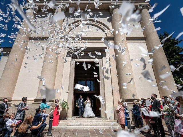 Il matrimonio di Andrea e Valentina a Rovato, Brescia 21