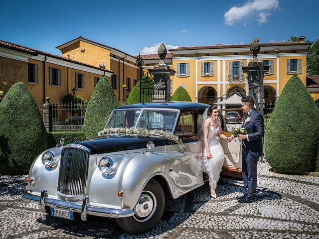 Il matrimonio di Andrea e Valentina a Rovato, Brescia 23