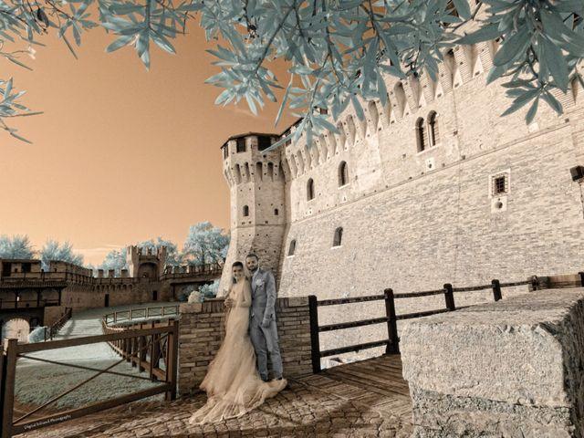 Il matrimonio di Michele e Elisa a Gradara, Pesaro - Urbino 13