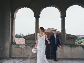 Le nozze di Alexandra e Simone