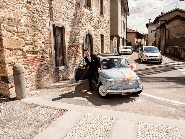Il matrimonio di Fabrizio e Silvia a Calcinate, Bergamo 19