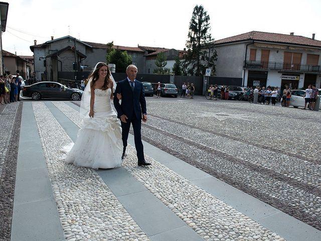 Il matrimonio di Fabrizio e Silvia a Calcinate, Bergamo 25