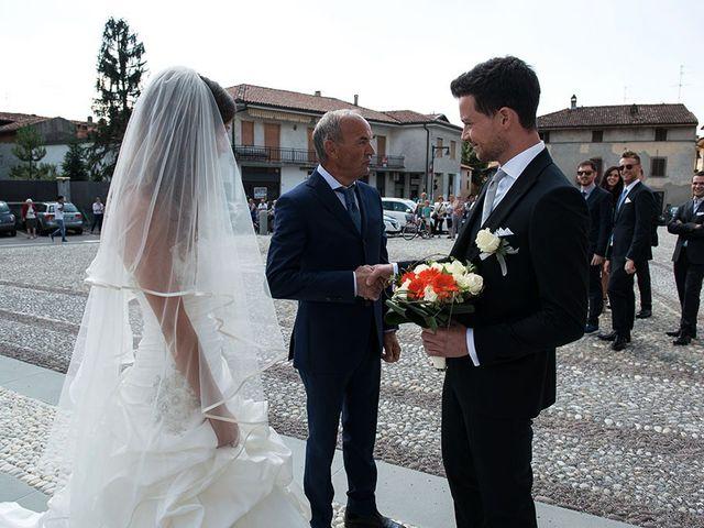 Il matrimonio di Fabrizio e Silvia a Calcinate, Bergamo 26