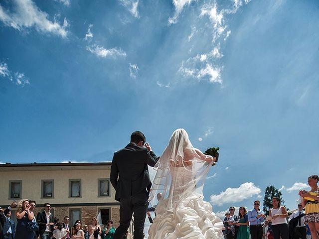 Il matrimonio di Fabrizio e Silvia a Calcinate, Bergamo 37