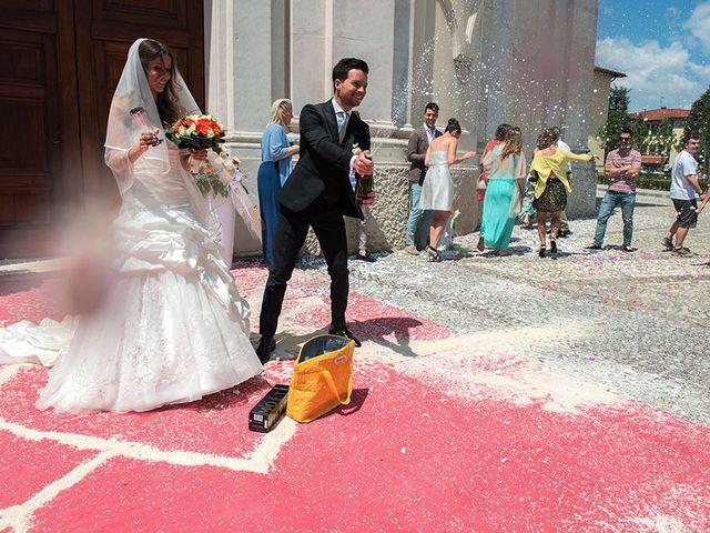 Il matrimonio di Fabrizio e Silvia a Calcinate, Bergamo 38