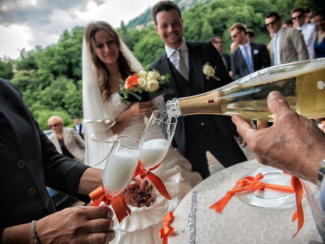 Il matrimonio di Fabrizio e Silvia a Calcinate, Bergamo 43