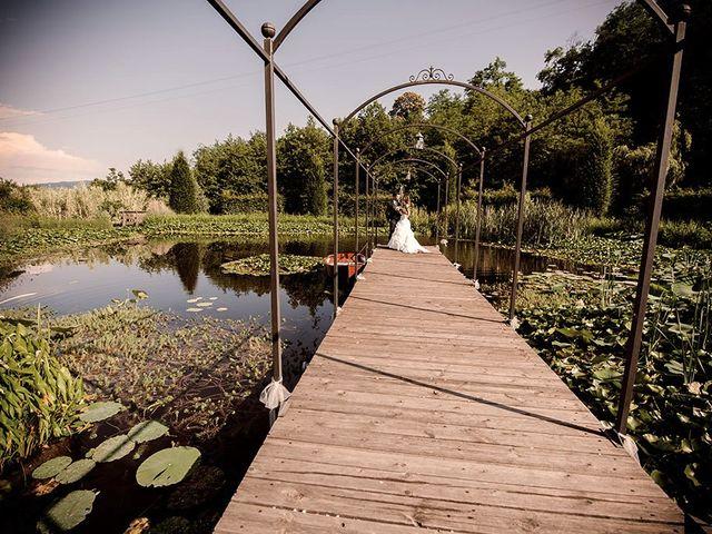 Il matrimonio di Fabrizio e Silvia a Calcinate, Bergamo 79