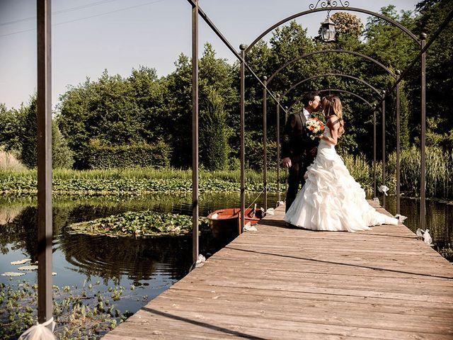 Il matrimonio di Fabrizio e Silvia a Calcinate, Bergamo 80