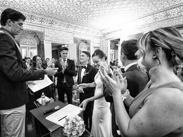 Il matrimonio di Filippo e Giulia a Viareggio, Lucca 35