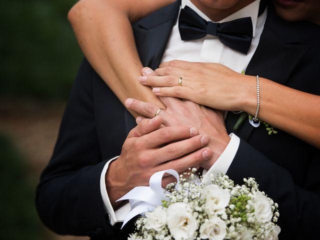 Il matrimonio di Filippo e Giulia a Viareggio, Lucca 42