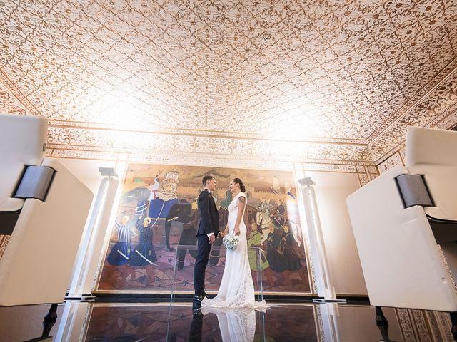 Il matrimonio di Filippo e Giulia a Viareggio, Lucca 44