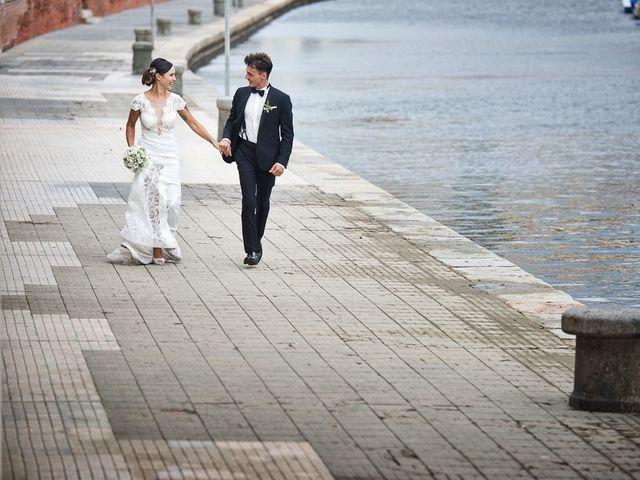 Il matrimonio di Filippo e Giulia a Viareggio, Lucca 55