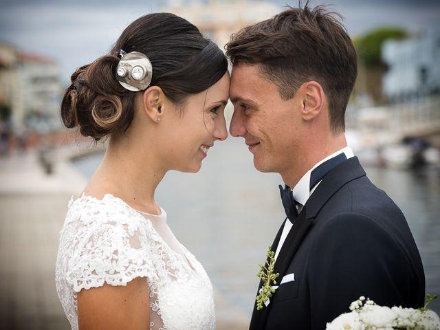 Il matrimonio di Filippo e Giulia a Viareggio, Lucca 57