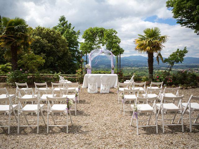 Il matrimonio di Cristiano e Chiara a Borgo San Lorenzo, Firenze 30