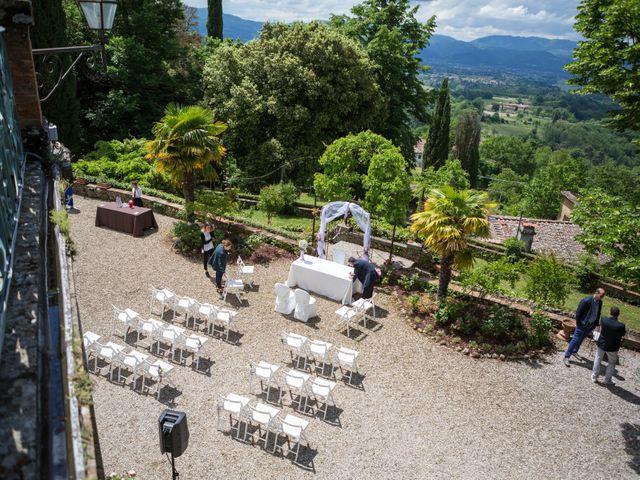 Il matrimonio di Cristiano e Chiara a Borgo San Lorenzo, Firenze 35