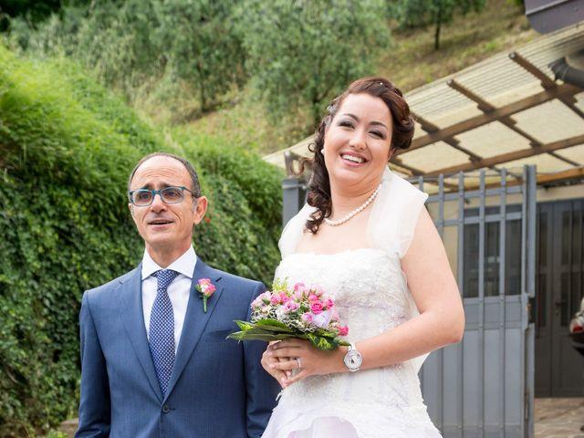 Il matrimonio di Cristiano e Chiara a Borgo San Lorenzo, Firenze 36