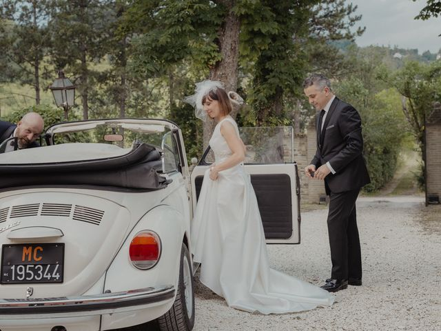 Il matrimonio di Cristina e Mario a San Severino Marche, Macerata 91