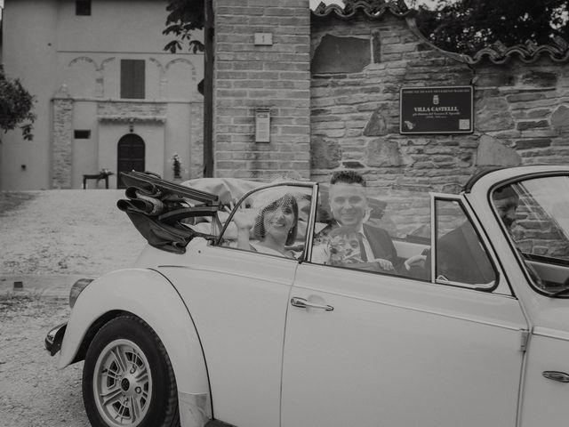 Il matrimonio di Cristina e Mario a San Severino Marche, Macerata 94