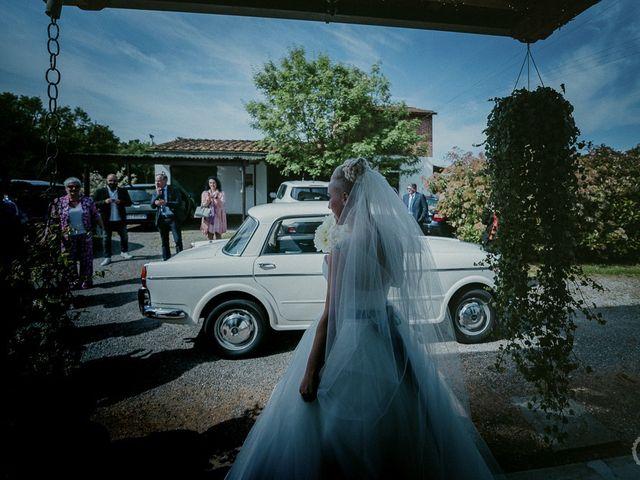 Il matrimonio di Filippo e Gloria a San Miniato, Pisa 33
