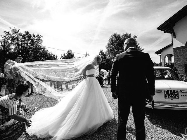 Il matrimonio di Filippo e Gloria a San Miniato, Pisa 41