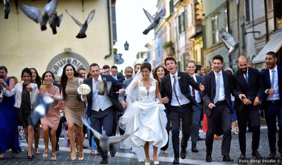 Il matrimonio di Antonello e Denise a Castel Gandolfo, Roma