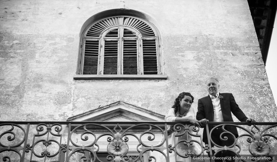 Il matrimonio di Cristiano e Chiara a Borgo San Lorenzo, Firenze