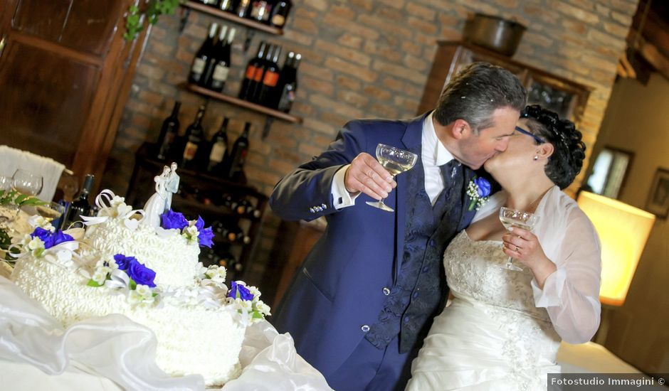 Il matrimonio di Patrizia e Sante a Camposanto, Modena