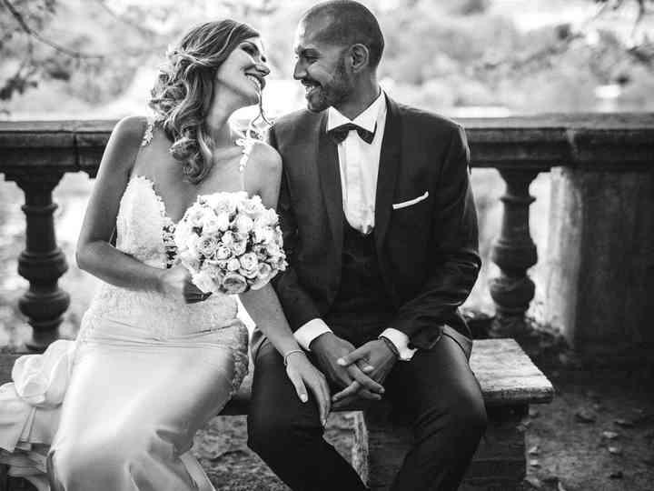 le nozze di Michela e Luciano