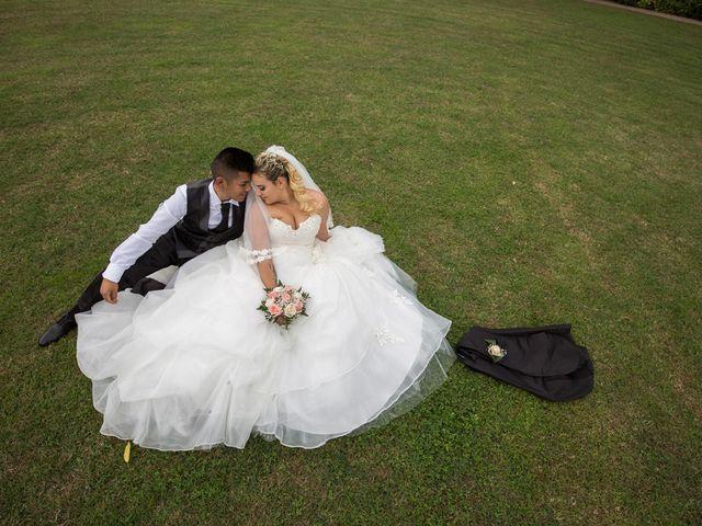 Le nozze di Deborah e Jason